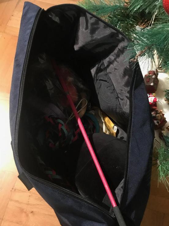 intérieur du sac